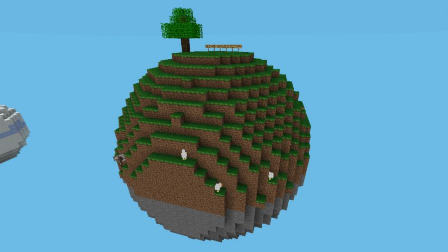 Minecraft maps - Sphere Survival