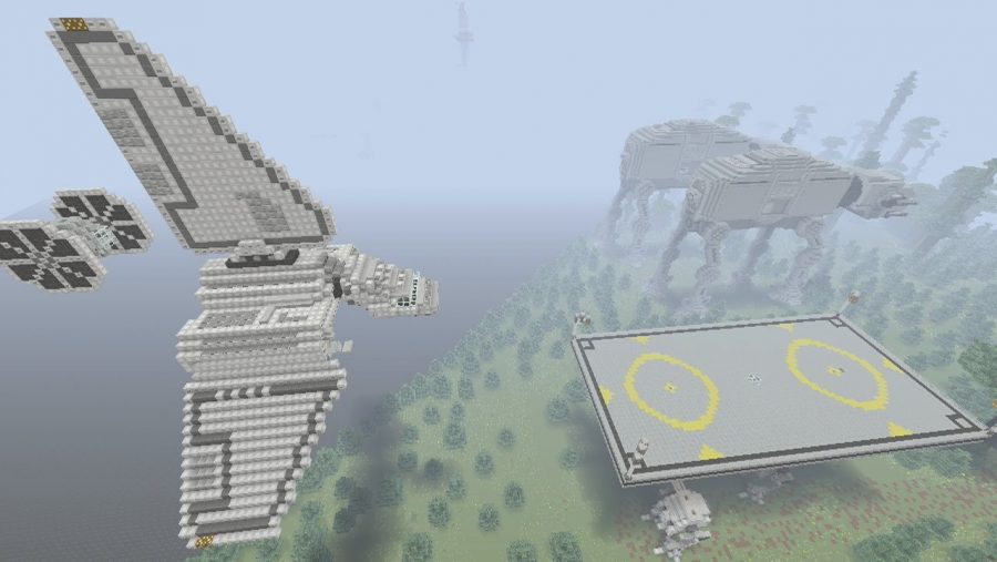 Minecraft maps - Star Wars