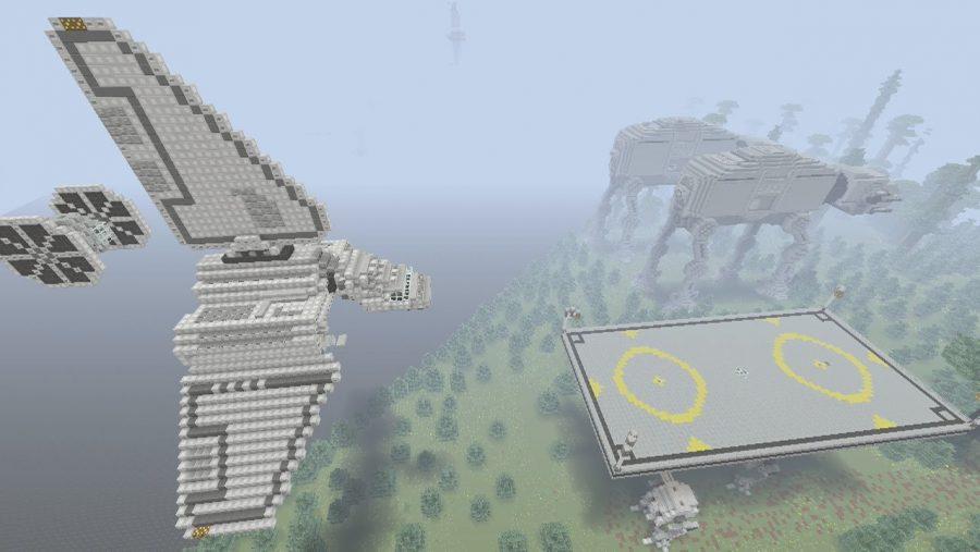 Карты Minecraft - Звездные войны