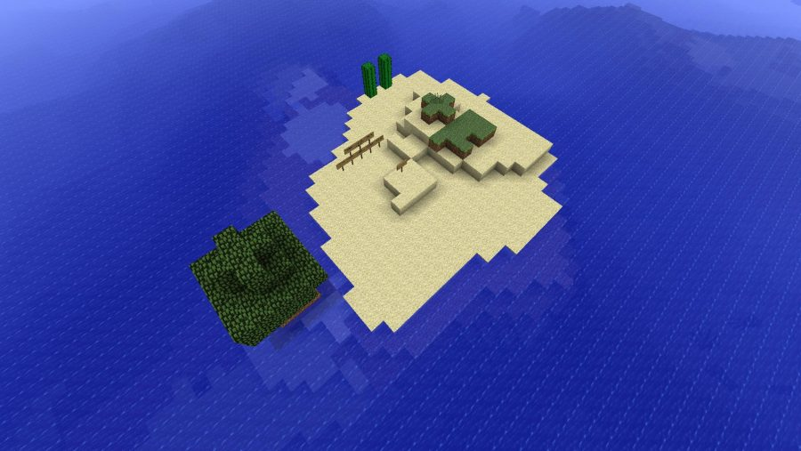 Minecraft maps - Survival Island