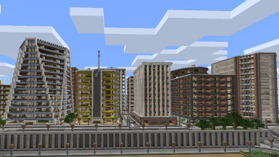 Minecraft maps - Tazader City
