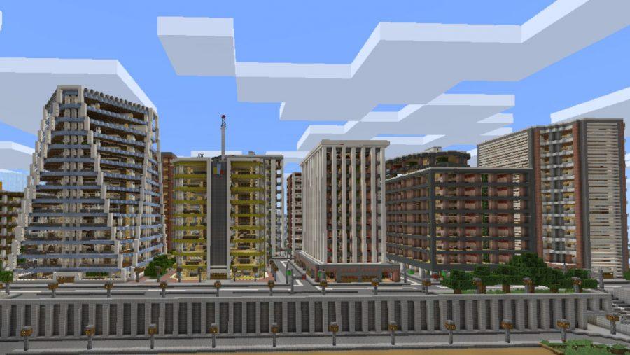 Карты Minecraft - Тазадер Сити