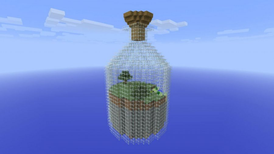 Minecraft maps - World in a Jar