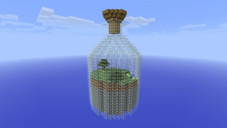 Карты Minecraft - мир в банке