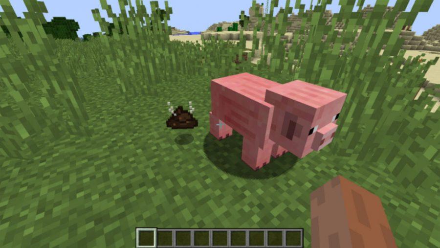 Minecraft mods - Pig Manure