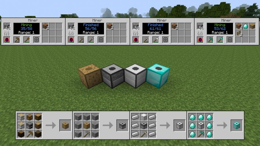 Minecraft mods - Progressive Automation