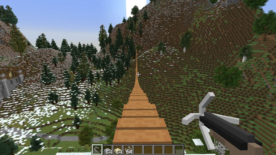 Minecraft mods - Rope Bridge Mod