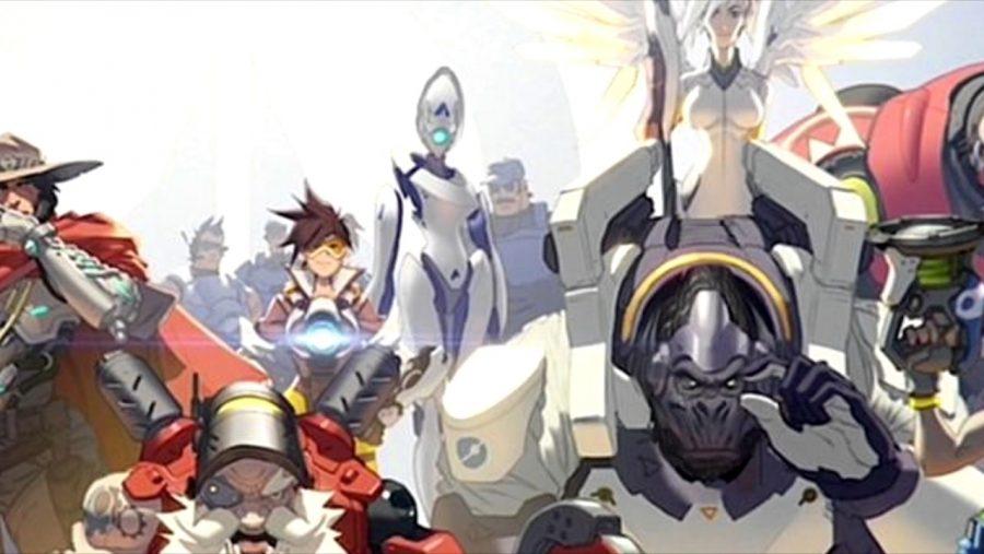 Overwatch new heroes Athena