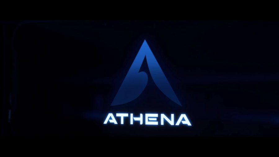 Overwatch new heroes Athena logo