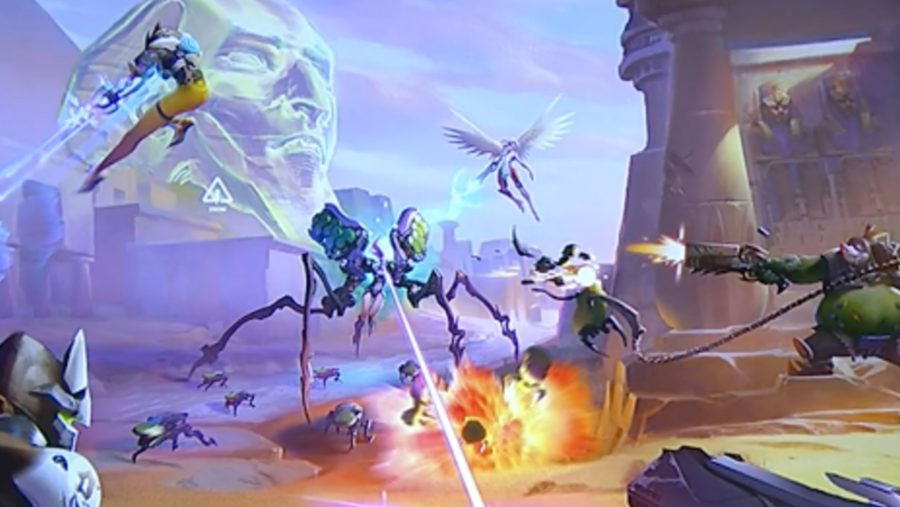 Overwatch new heroes Recluse spider tank