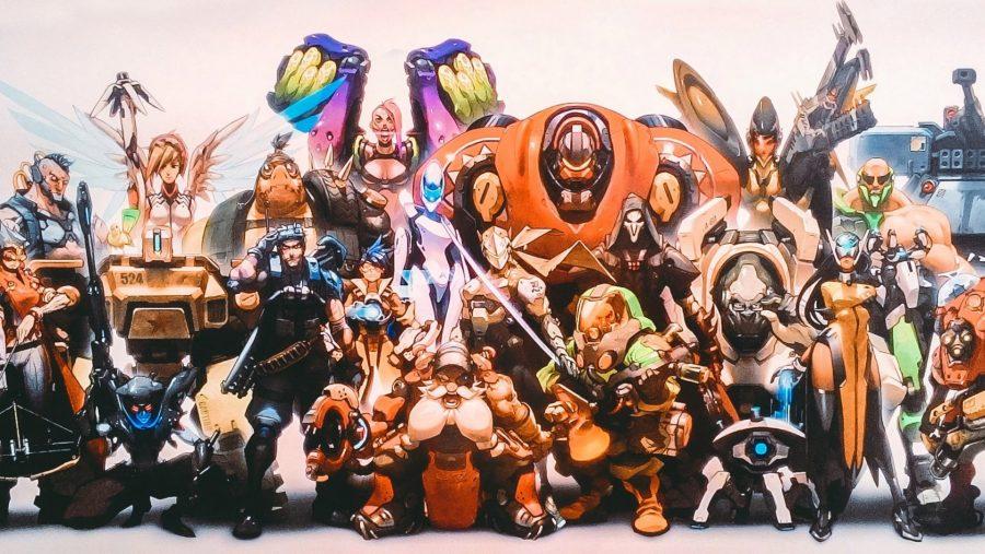 Overwatch new heroes old art