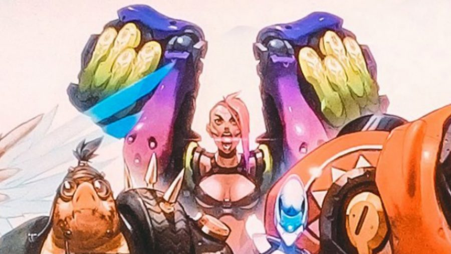 Overwatch new heroes spider tank
