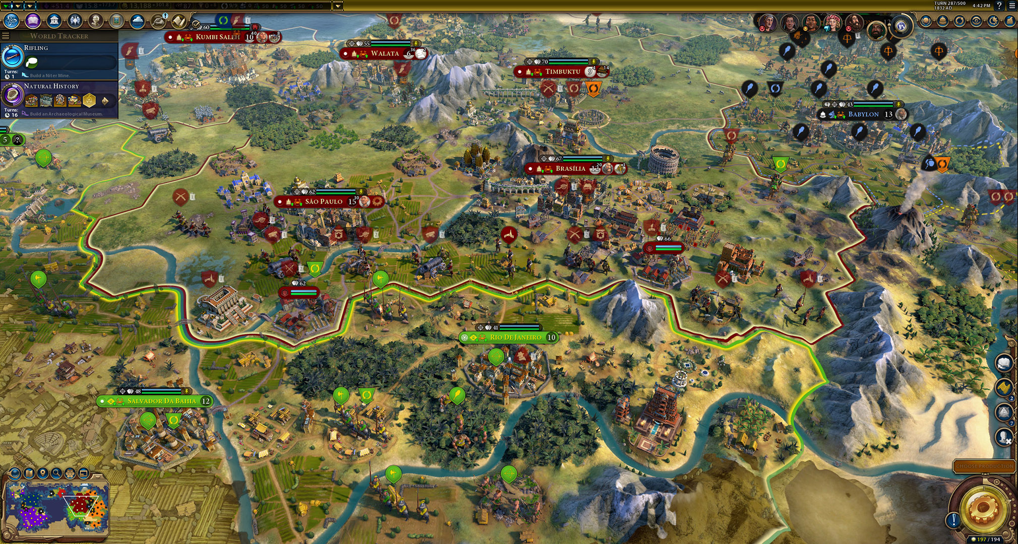Popular and best mods for Civ 6