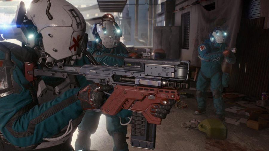 Cyberpunk rifles-2077