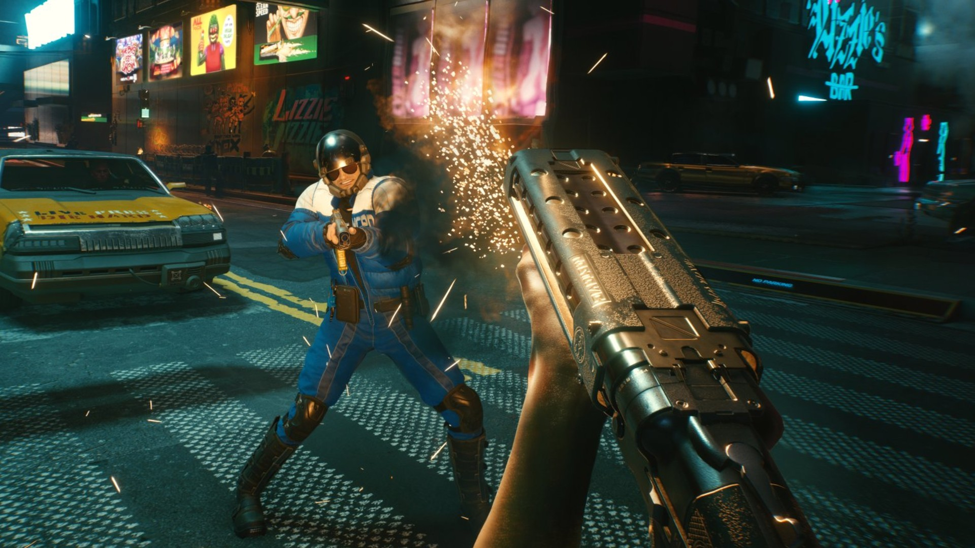 Cyberpunk 2077 will mark a new era of electronic games. (Image: CD Projekt RED)