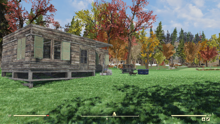 fallout 76 camp guide Whitespring