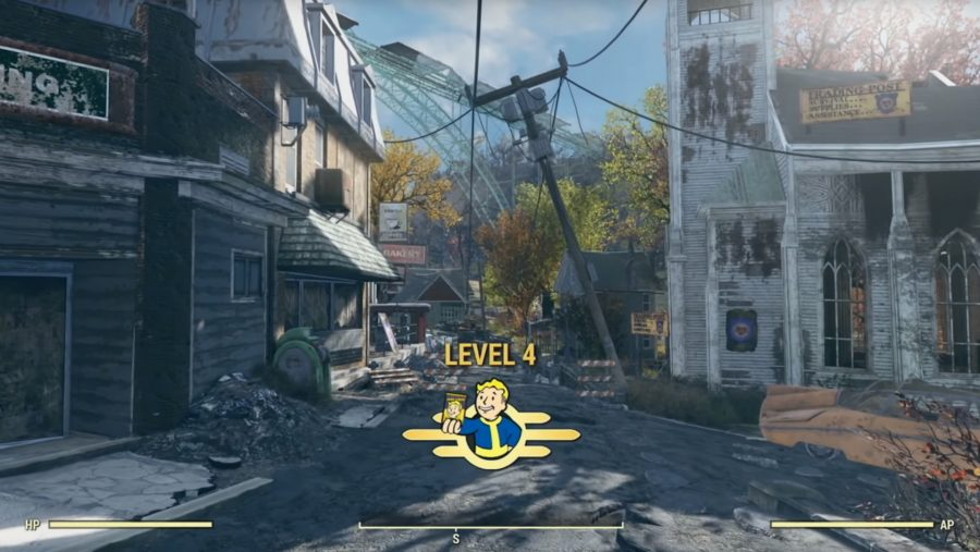 levelling up fallout 76