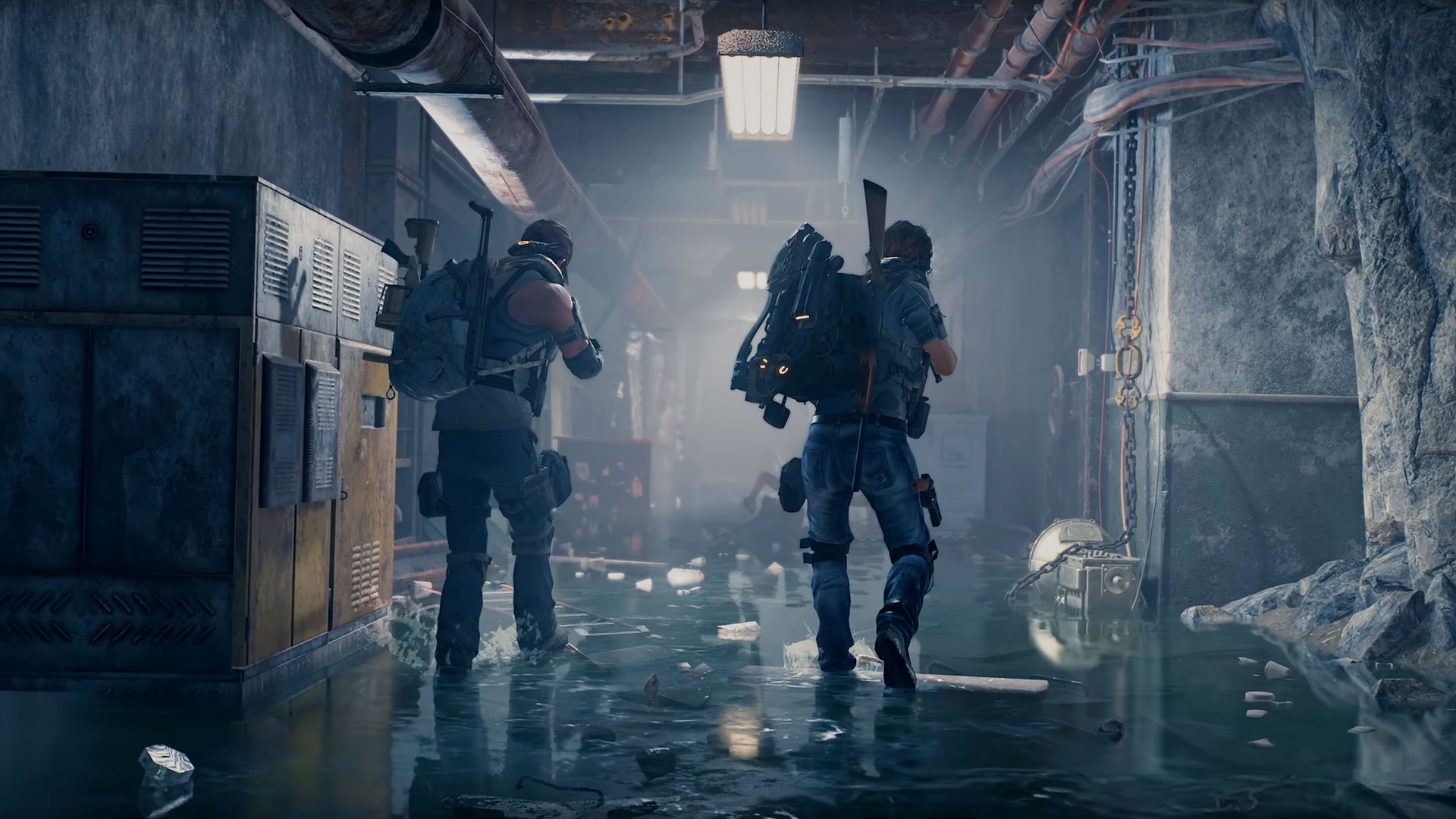 It turns out The Division 2 actually does have a flashlight (sort of)