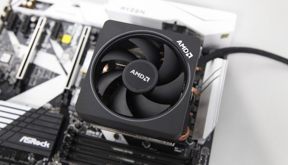 AMD CPU and cooler