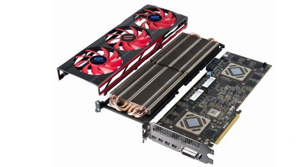 AMD multi GPU graphics card