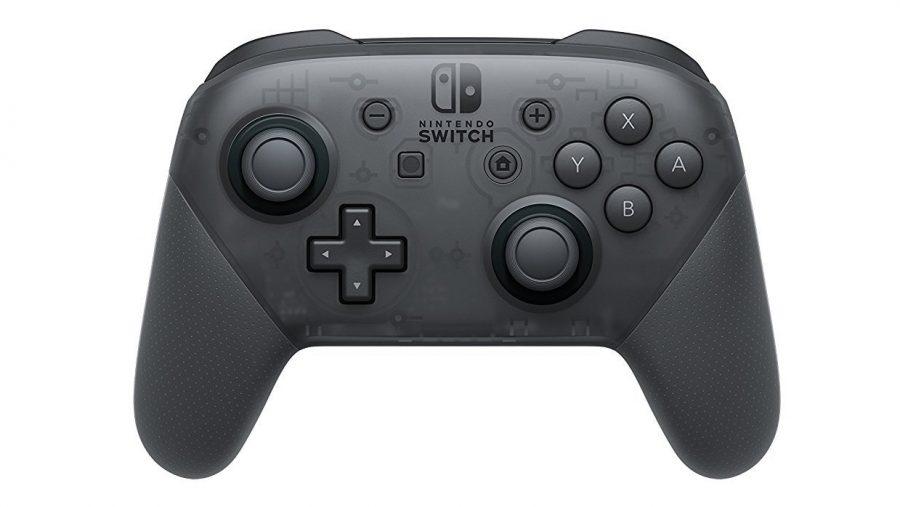 Best PC controller runner-up - Nintendo Switch Pro controller