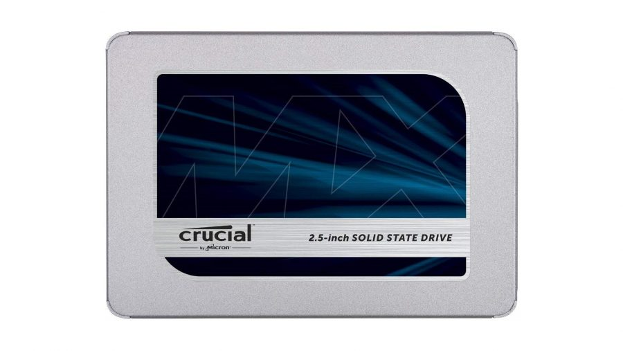 Best SSD for gaming runner-up - Crucial MX500
