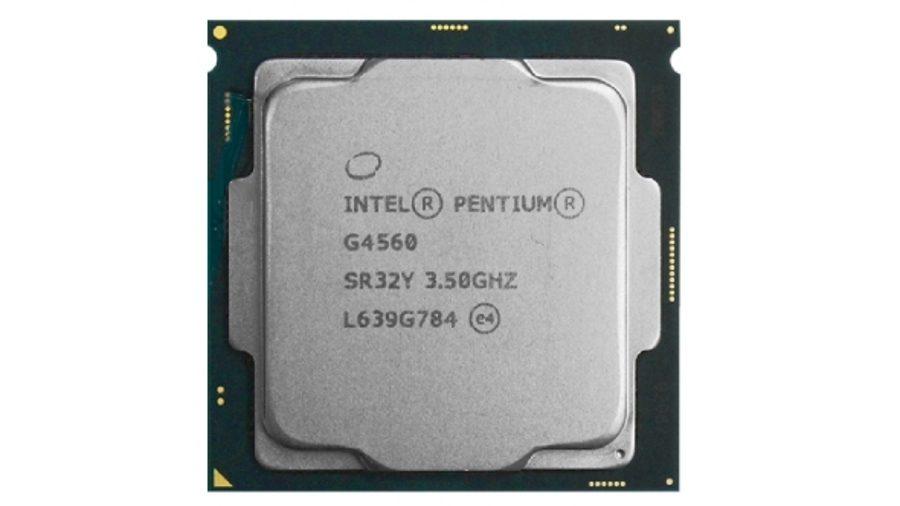 Best cheap CPU for gaming runner-up - Intel Pentium G4560