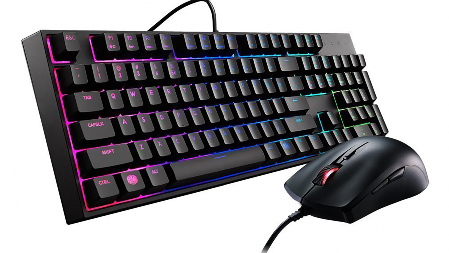 Best cheap gaming keyboard runner-up - Cooler Master MasterKeys Lite L combo