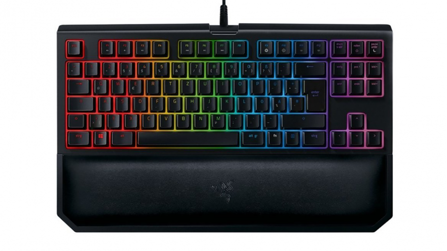 Best compact gaming keyboard - Razer Blackwidow Chroma V2 Tournament Edition