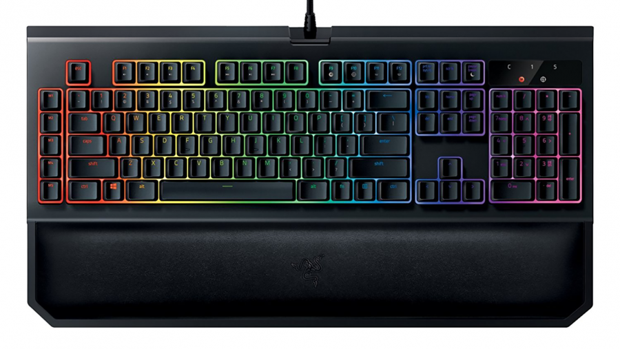 Best gaming keyboard runner-up - Razer Blackwidow Chroma V2