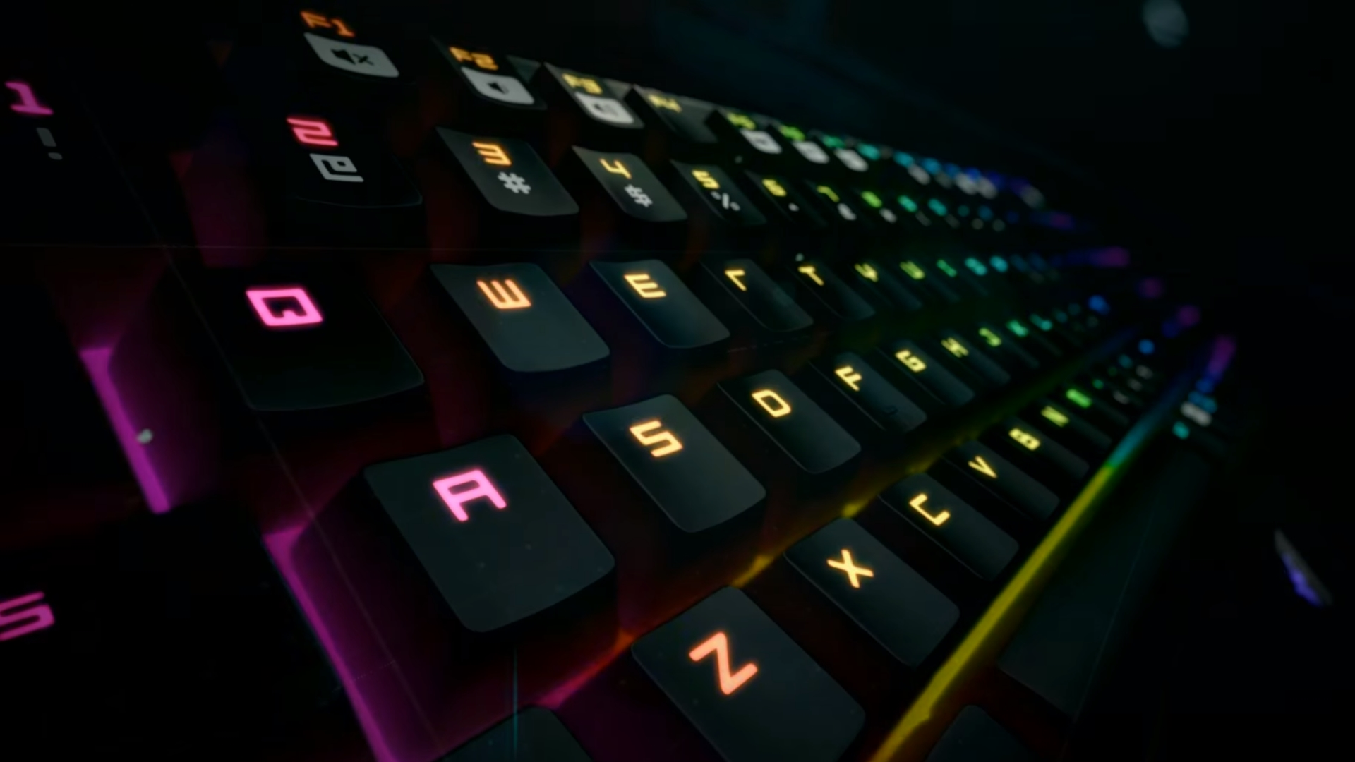 Best Gaming Keyboard 2018 Pcgamesn Corsair Mechanical K65 Rgb Red Switch