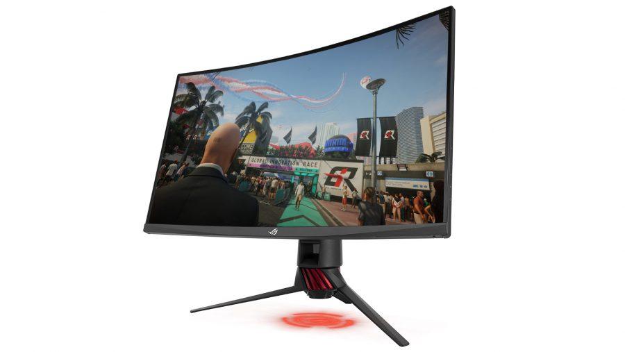 Best gaming monitor runner-up - Asus ROG Strix XG32VQ