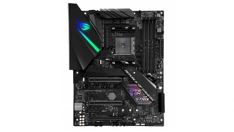 Best high-end AMD gaming motherboard - Asus ROG STRIX X470-F Gaming