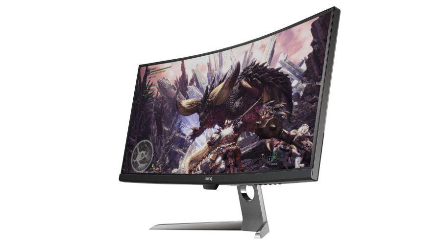 Best ultrawide monitor runner-up - BenQ EX3501R