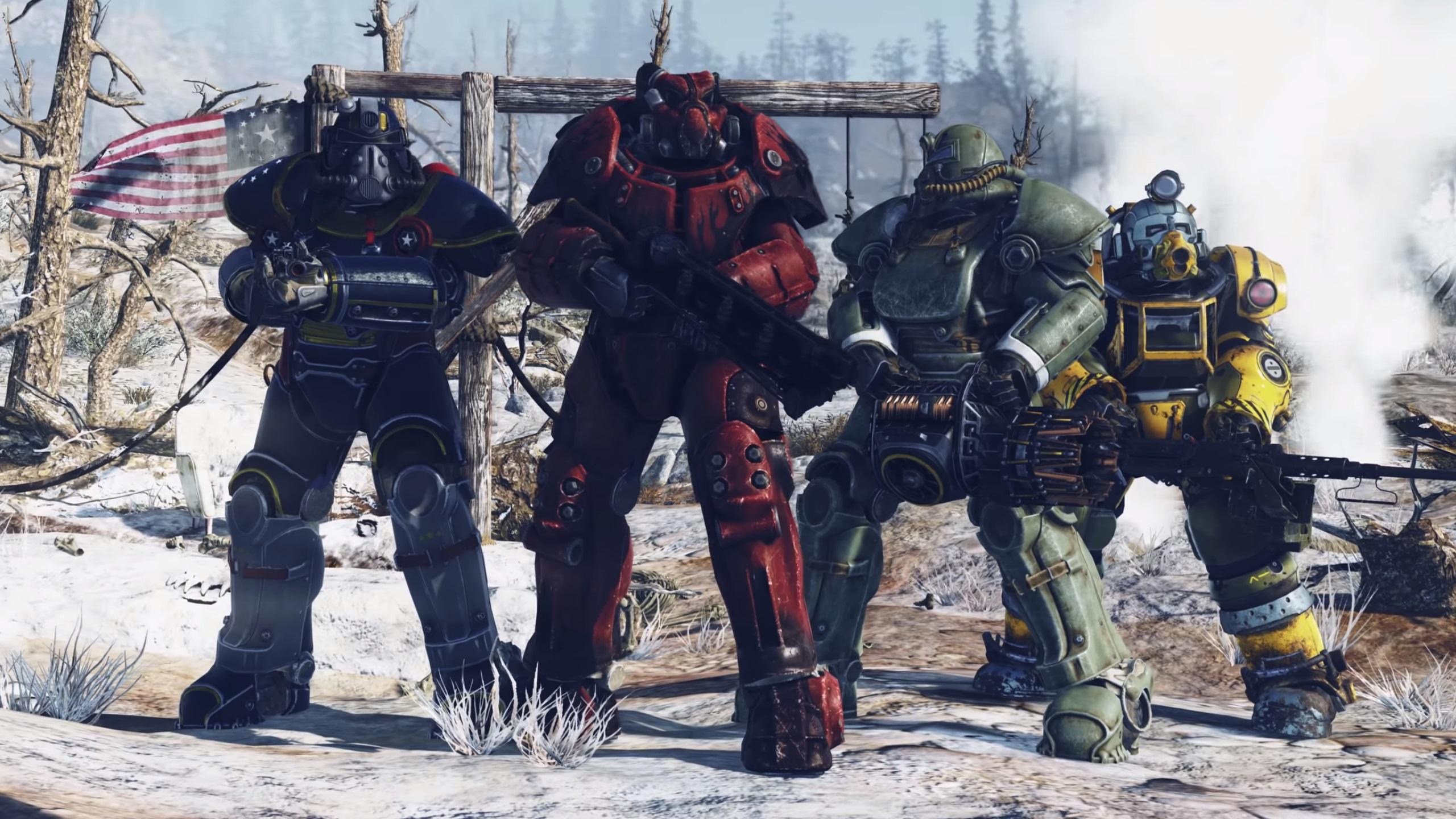 Fallout 76 Veröffentlichung