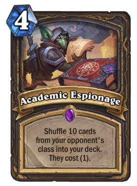 Hearthstone Boomsday Project - Academic Espionage