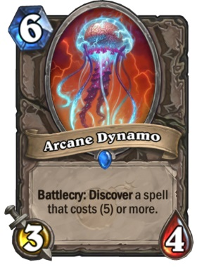 Hearthstone Boomsday Project - Arcane Dynamo
