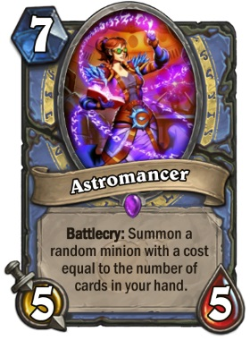 Hearthstone Boomsday Project - Astromancer
