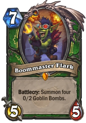 Hearthstone Boomsday Project - Boommaster Flark