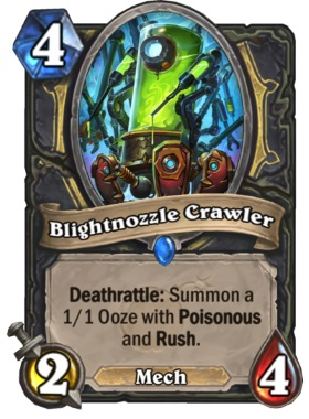 Hearthstone Boomsday Project - Brightnozzle Crawler