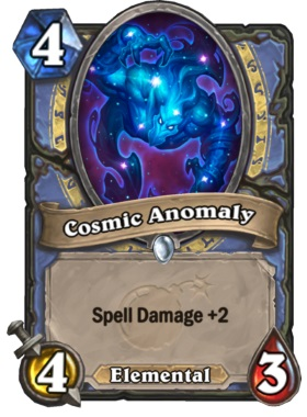 Hearthstone Boomsday Project - Cosmic Anomaly