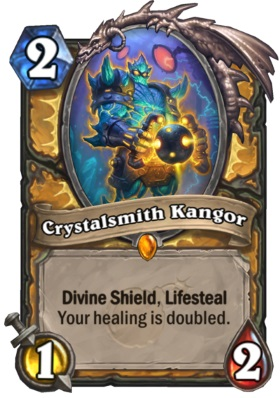 Hearthstone Boomsday Project - Crystalsmith Kangor