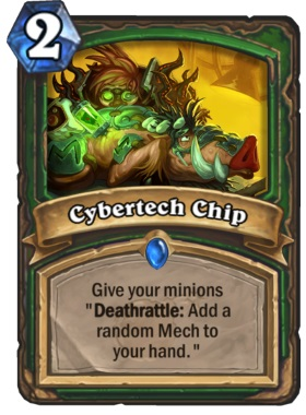 Hearthstone Boomsday Project - Cybertech Chip