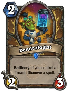 Hearthstone Boomsday Project - Dendrologist
