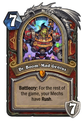 Hearthstone Boomsday Project - Dr Boom