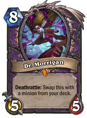 Hearthstone Boomsday Project - Dr Morrigan