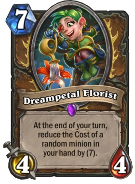 Hearthstone Boomsday Project - Dreampetal Florist