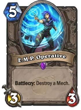 Hearthstone Boomsday Project - EMP Operative