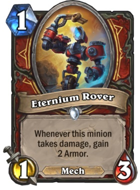 Hearthstone Boomsday Project - Eternium Rover