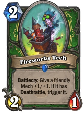 Hearthstone Boomsday Project - Fireworks Tech